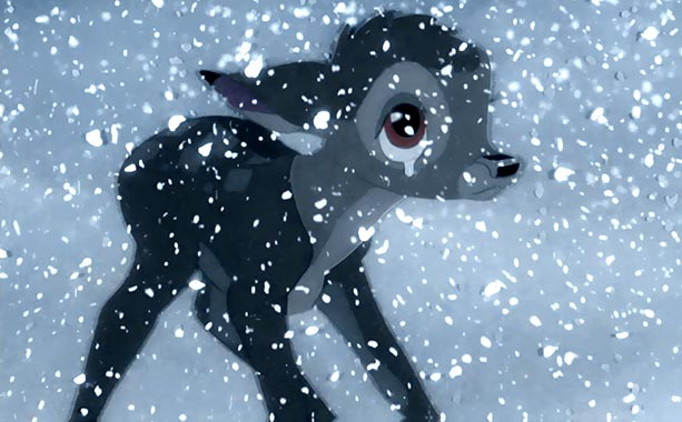 Bambi | This classic Disney death, signaled with a single shot, is still one of the most powerful.