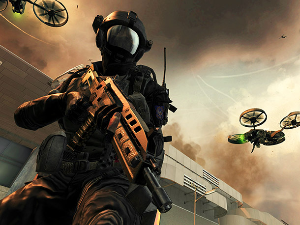 Call it post? Modern Warfare : The futuristic Black Ops II will take place primarily in 2025 after a cold war has erupted between the…