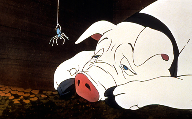 Charlotte's Web | Charlotte's demise, followed by the birth of her children, neatly illustrates the connection between life and death. Though she saved Wilbur's life on several occasions,…