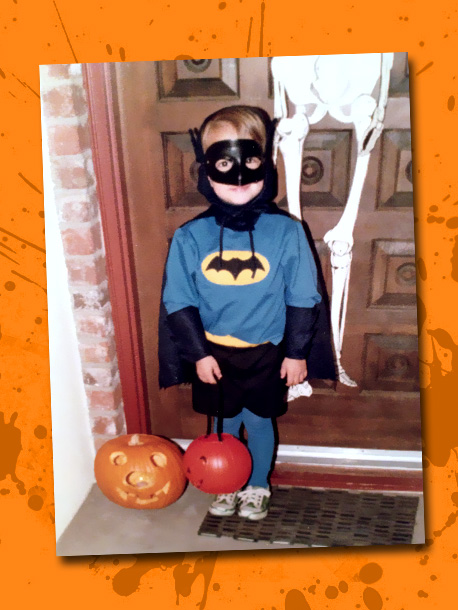 Before he was a super-spy, this TV actor (seen here at age 4) says he ''was obsessed with Halloween as a kid. My mom used…