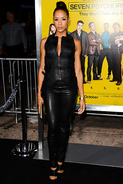 Dania Ramirez at the premiere of Seven Psychopaths in Los Angeles