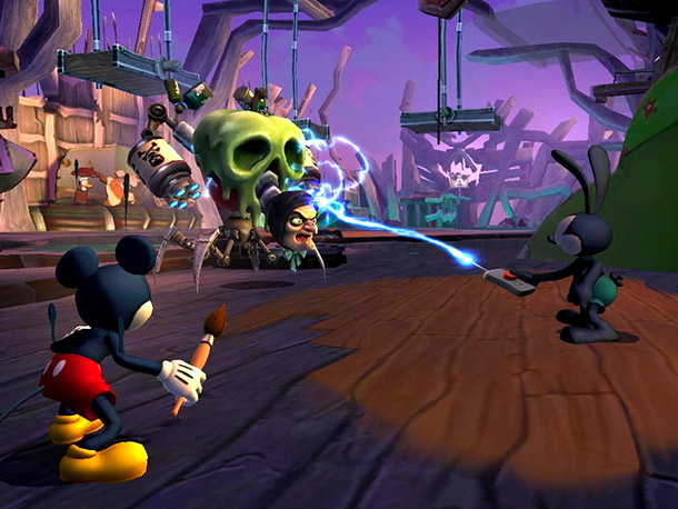 Mickey Mouse is getting an HD makeover and an emphasis on co-op in Disney's Epic Mickey 2: The Power of Two . He'll be teaming…