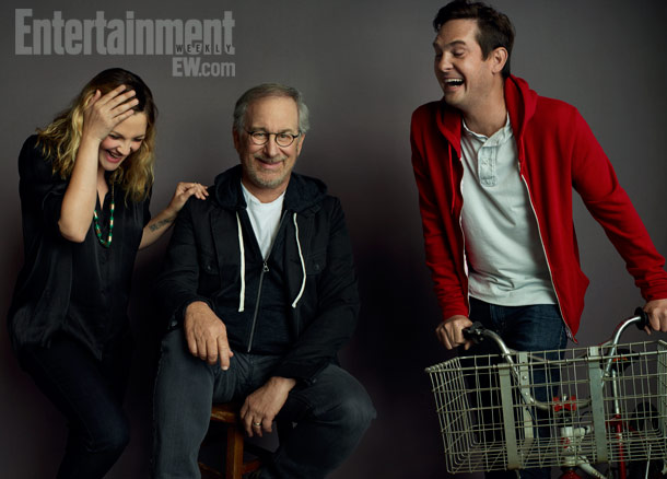 Henry Thomas, Drew Barrymore, ... | Drew Barrymore, Steven Spielberg, and Henry Thomas ''I have a really profound memory of everything. E.T. feels like it was a couple years ago. It…