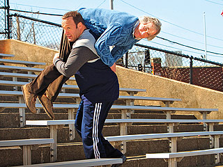 BIO 101 Kevin James puts his life on the line to alleviate his school's budgetary woes