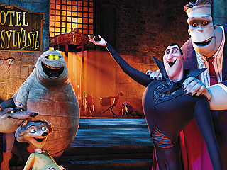 DADDY DRACULA Adam Sandler and Andy Samberg reunite for the animated flick