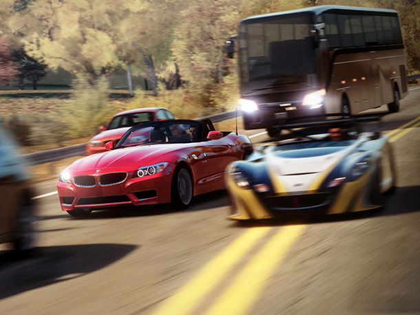 Microsoft's premiere racer is getting an arcade-y spinoff. Forza Horizon takes the series open world, allowing players to drive around the roads of Colorado and…