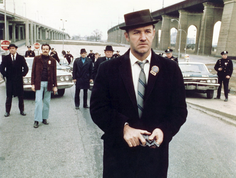 A nail-biter about international heroin smuggling, with an indelible performance by Gene Hackman as sleazo-heroic New York cop Popeye Doyle and one of the most…