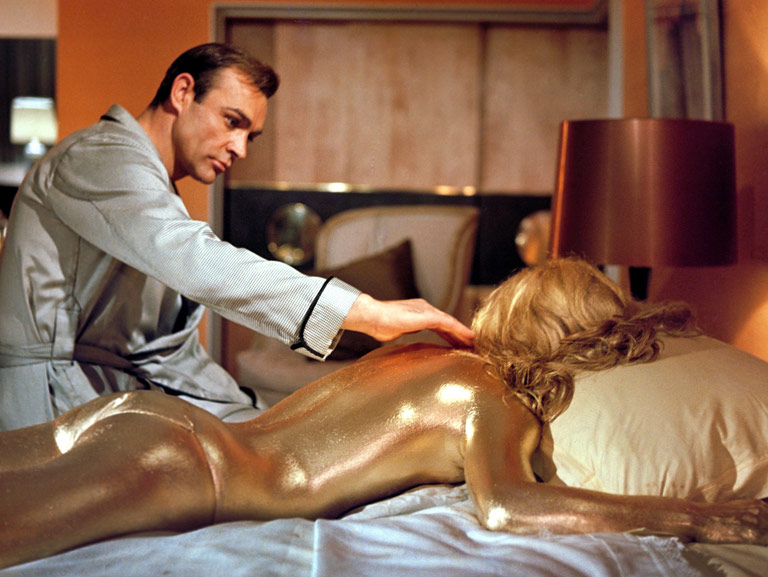 The quintessential James Bond movie because it's got everything: great gizmos and a gold-painted girl, a villain of very grand cunning, and Sean Connery at…