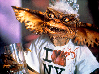 GREEN GOOEY NY T-Shirt Gremlin in Gremlins 2: The New Batch