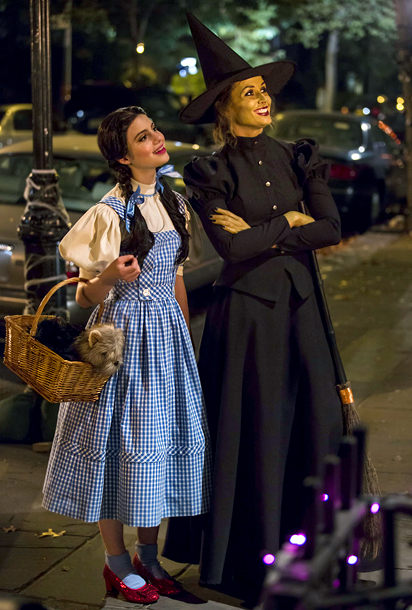 Blue Bloods (11/2): Sami Gayle as Dorothy and Bridget Moynahan as The Wicked Witch of the West
