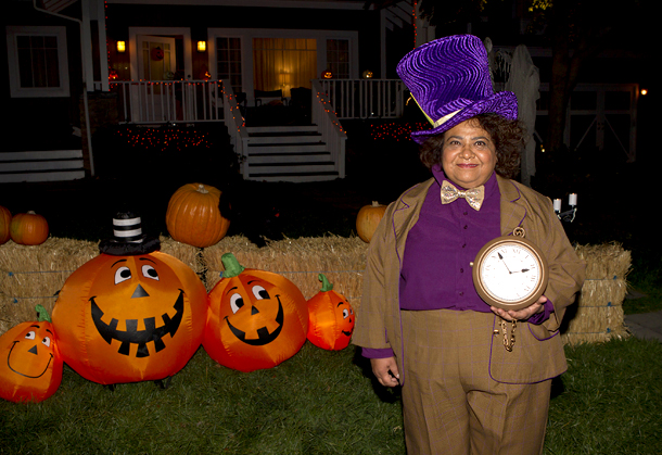 Go On (10/30): Tonita Castro as the Mad Hatter