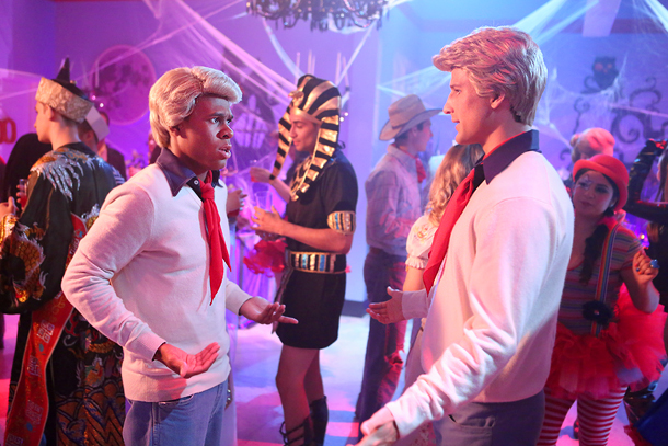 Suburgatory (10/24): Maestro Harrell and Parker Young, both as Fred from Scooby-Doo