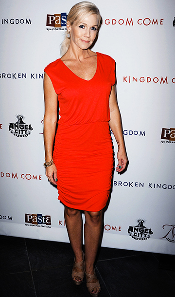 Jennie Garth at the premiere of Kingdom Come in Los Angeles
