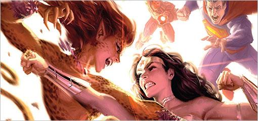 Justice League 13 Varient Cover
