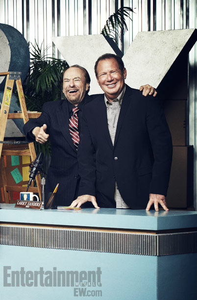 Rip Torn, Garry Shandling | Rip Torn and Garry Shandling ''It was like a live show. We didn't say, 'Oh, I didn't get that line right — I'd like to…