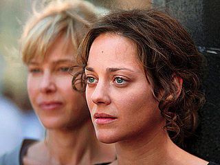 SUMMER VACATION Pascale Arbillot and Marion Cotillard in Little White Lies