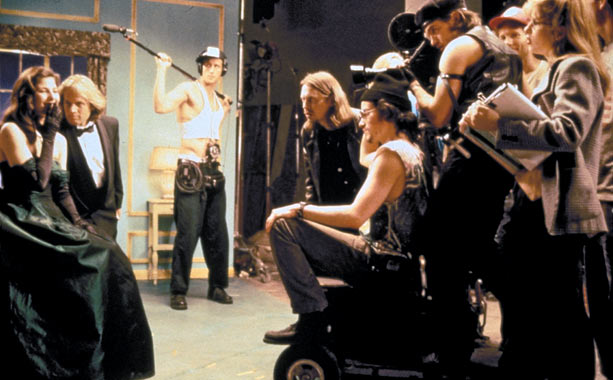 Steve Buscemi is traditionally quirky, a streak of bug eyes and long hair, as a freaked-out director filming a low-budget indie in Tom DiCillo's 1995…
