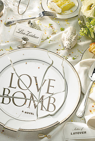 WEDDING CRASHER In the novel, a ''terrorist of love'' invites herself to Tess and Gabe's wedding and wreaks havoc