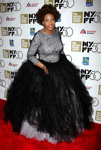 Macy Gray at the Nicole Kidman Gala Tribute during the 50th annual New York Film Festival in New York City