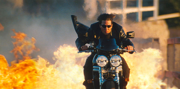 Mission: Impossible 2 | ''I took a style like Jim Jarmusch and mixed it with a John Woo style. Like, 'Okay, yeah, he's having a deep thought right now,…