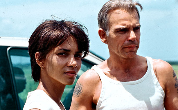 Monster's Ball | Played by: Halle Berry and Billy Bob Thornton An aging, racist, seemingly heartless prison guard falls for an African-American beauty whose husband's execution he oversees.…