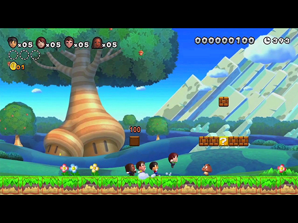 Nintendo's follow-up to New Super Mario Bros. looks similar on the surface: Four players hop and bop their way through candy-colored side-scrolling levels, collecting coins…