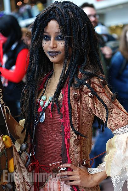 Tia Dalma of Pirates of the Caribbean