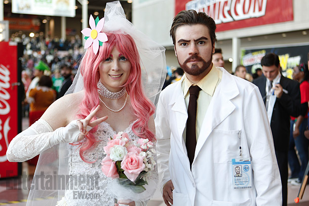 Dr. Krieger and Virtual Girlfriend of Archer