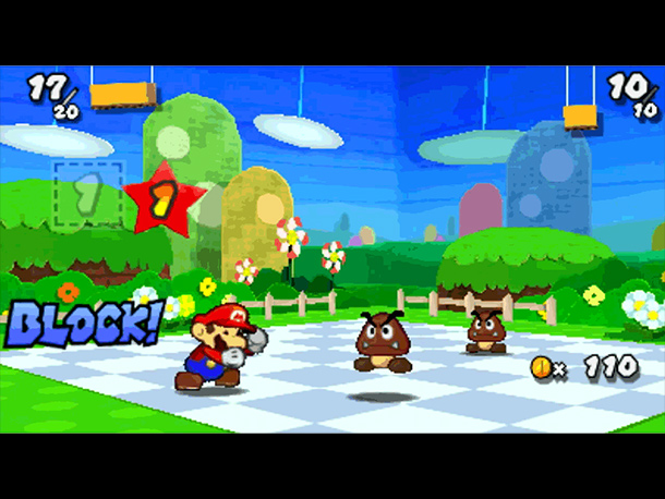 Paper Mario is going portable for the first time. The adorable turn-based RPG stars a papercraft Mario who must collect stickers that grant various powerups…