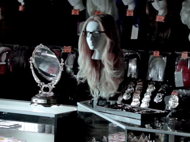 Pretty Little Liars | 4. WHAT A DISGUISE There are actually two clues hidden in this photo. The horn-rimmed glasses? The wig? The mirror? For a refresher, check out…