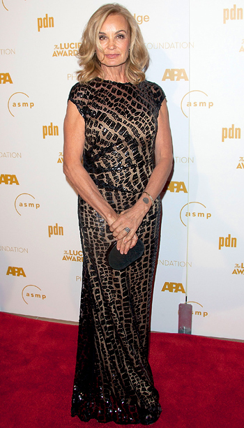 Jessica Lange (in David Meister) at the 10th Annual Lucie Awards in Los Angeles