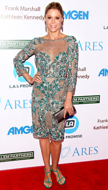Julie Bowen (in Zuhair Murad) at the Los Angeles Promise Gala 2012
