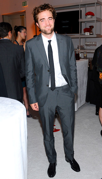 Robert Pattinson at Elle's 19th annual Women in Hollywood celebration