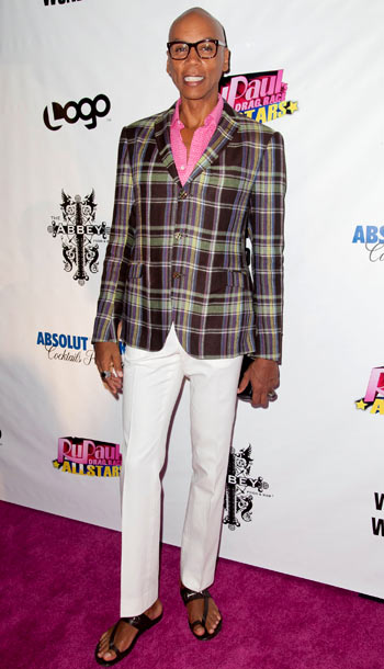 RuPaul at the Rupaul's Drag Race: All Stars premiere party in Los Angeles