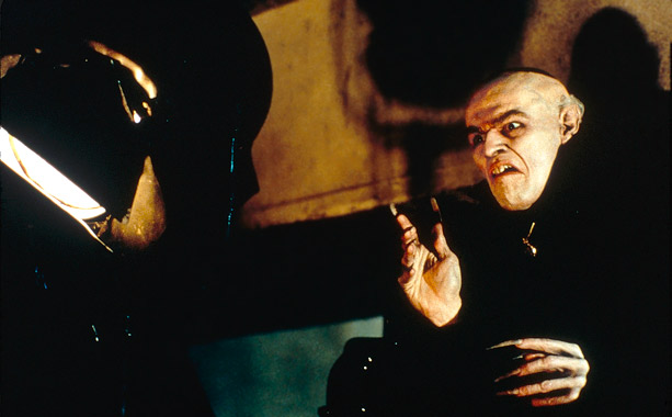 In this fictionalized account of the making of Nosferatu , director F. W. Murnau (John Malkovich) casts method actor Max Schreck (Willem Dafoe) as the…