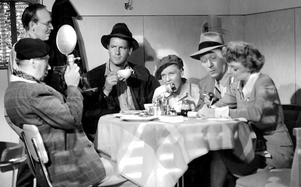 A director of blithe comedies (Joel McCrea) goes undercover to research the Depression era so that his next film can be a serious study of…