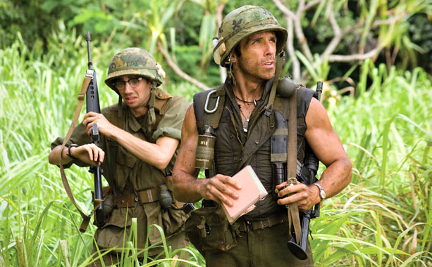 This acid-tipped satire of modern Hollywood ego and bloat revels in I-can't-believe-they're-doing-this caricatures, but we'll single out just three: Director Ben Stiller's pumped-up dunderhead action…