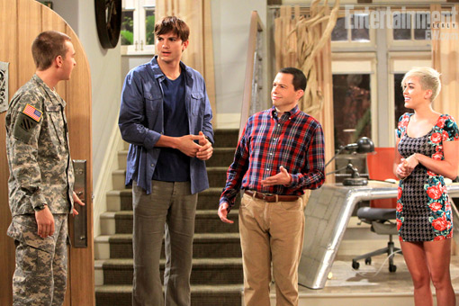 Two And A Half Men Miley