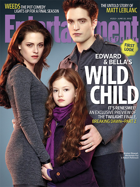 Kristen Stewart, Robert Pattinson, ... | ''[Director Bill] Condon says [Pattinson and Stewart's bond with on-screen daughter Mackenzie Foy] went well beyond superficialities. 'They were amazing with her,' he says. 'It…