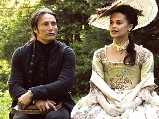 A ROYAL AFFAIR Mads Mikkelsen and Alicia Vikander