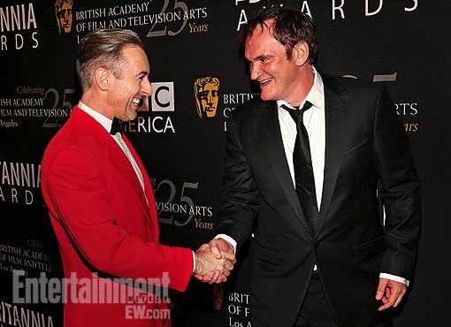 Alan Cumming Quentin Tarantino