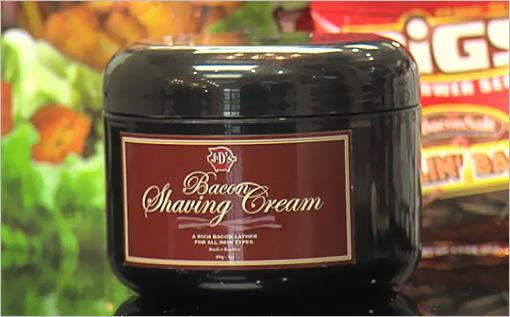 Bacon Scented Shaving Cream