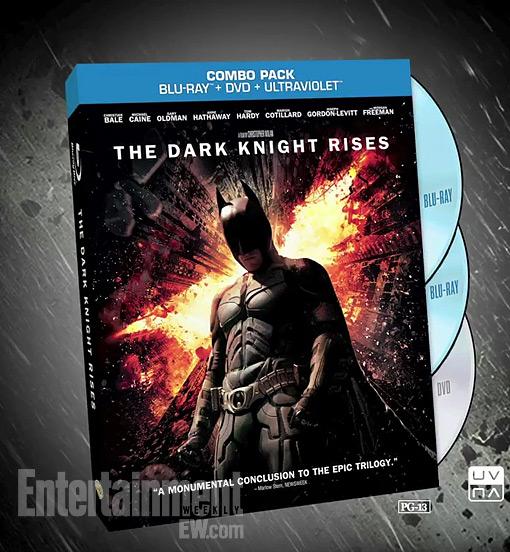Dark Knight Rises Blue Ray