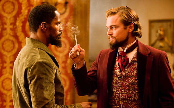 Django Unchained (pictured) Anna Karenina Amour The Hobbit: An Unexpected Journey Moonrise Kingdom