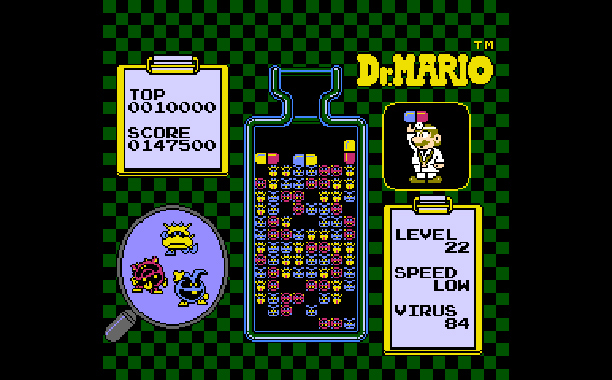 ''As a young boy with an NES, I would spend hours and hours on end playing Dr. Mario — wearing out my prescription pad and…