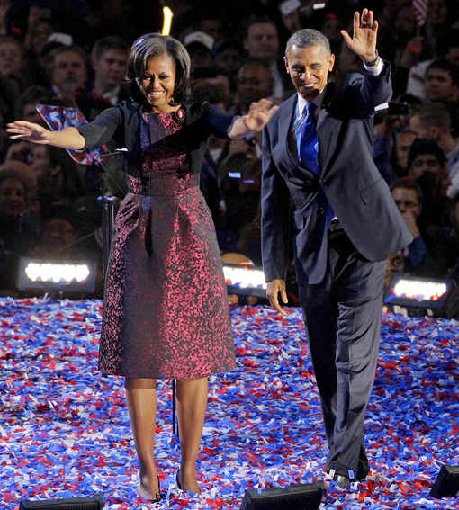 Election Night Obamas