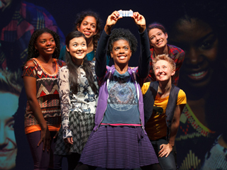 EMOTIONAL CREATURE Joaquina Kalukango, Olivia Oguma, Sade Namei, Ashley Bryant, Emily Grosland and Molly Carden