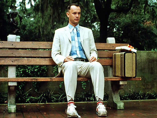 Tom Hanks, Forrest Gump, ... | '' Forrest Gump , spanning a 30 year period of mid 20th century history, so in small moves saying where we are in time by…