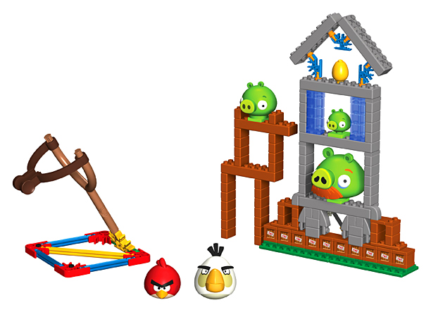 Angry Birds goes offline with this deconstructed building set. Set 'em up, knock 'em down, repeat. ($30.99; kinex.com )