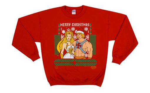 He Man She Ra Christmas Sweater